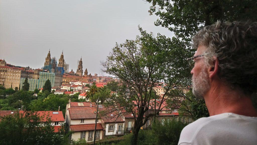 Lucas in Santiago de Compostella
